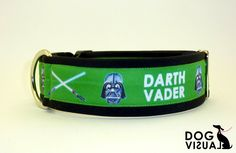 collars with ribbon Darth Vader