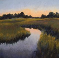 """18 x 18 Pastel on sanded paper,  """"Still"""" by Beth Williams SOLD"""