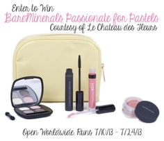 Bare Minerals Passionate for Pastels Giveaway