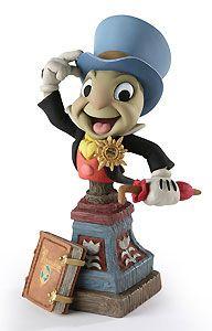 Pinocchio - Jiminy Cricket - Bust - Walt Disney Mini Busts - World-Wide-Art.com - $65.00 #Disney #Pinocchio #Jiminy