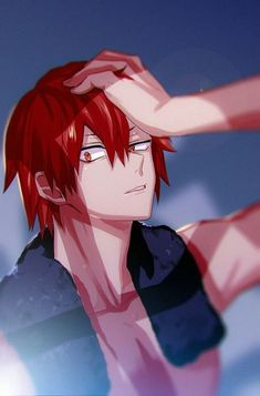 My Hero Academia Memes, Buko No Hero Academia, Hero Academia Characters, My Hero Academia Manga, Anime Characters, Kirishima Eijirou, Kirishima My Hero Academia, Deku Anime, Comic Anime