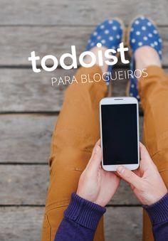 Um ótimo post da Loma Sernaiotto sobre como organizar seu blog com Todoist!