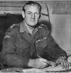 """""""'Fighting' Jack Churchill was a British officer in World War II who, instead of arming himself with a gun, used a longbow and arrows, a Scottish broadsword, and bagpipes. During one charge against Germans in Yugoslavia, Churchill survived a mortar attack while playing 'Will Ye No Come Back Again' on his bagpipes."""""""