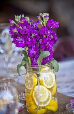The French Tangerine: ~ grape and lemon