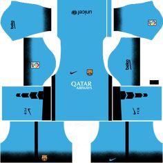 Dream League Soccer Kits Barcelona with Logo URL Logo Barcelona, Barcelona Third Kit, Barcelona 2015, Barcelona Football Kit, Barcelona Futbol Club, Barcelona Soccer, Manchester United Home Kit, Manchester United Soccer, Soccer Kits