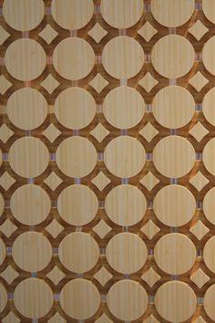 Wood screen by Fletcher Cameron