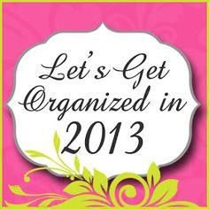 Delightful Order: Let's Get Organized in 2013