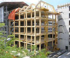 Bürogebäude der Mediengruppe Tamedia in Zürich von Shigeru Ban
