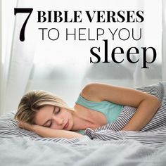 Do you ever struggle to fall asleep, tossing and turning for hours? Do you need help to quiet your mind after a long day? This bedtime prayer and scriptures will help.