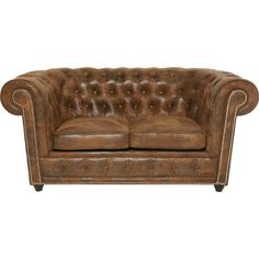 K&F Sofa Cambridge 2-Seater Vintage - KARE Design