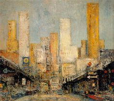 New York, 1957 by Arturo Souto (Spanish 1902-1964)