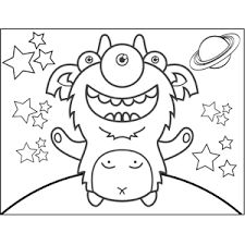 monster coloring pages classroom monsters pinterest monsters