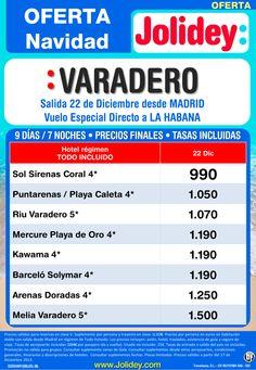 Oferta Navidad - Varadero desde 990€ Tax incl. Salida Domingo 22 de Diciembre ultimo minuto - http://zocotours.com/oferta-navidad-varadero-desde-990e-tax-incl-salida-domingo-22-de-diciembre-ultimo-minuto/