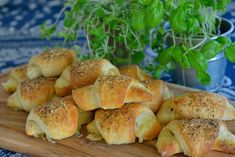 Ostehorn - en garantert vinner til matpakken - Franciskas Vakre Verden Swedish Recipes, Bagel, Cooking Tips, Tapas, Nom Nom, Sandwiches, Food And Drink, Lunch, Cheese