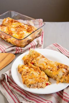 Recipe: Chicken Chile Enchiladas