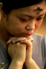 Ash Wednesday falls on March 5, 2014, 46 days before Easter 2014. (For more on why Lent is 40 days long but Ash Wednesday falls 46 days befo...