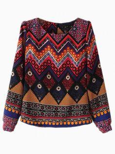 National Style Blouse - Choies.com