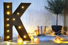 Have you seen our LED Letter Light on @chaptersofkat's blog?  #lbloggers #lifestyle #review