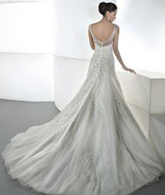 Ilissa Style 543 by Demetrios (back) $1501-$3000