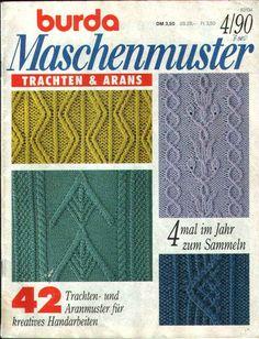 узоры из кос - Ксения - Picasa Web Albums #knittingstitches #knittingcables