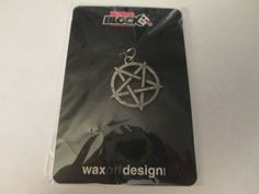 Star Pentagram Horror Pendant Jewelry Making Craft Supplies