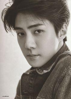 Sehun - 190911 Fourth official photobook 'PRESENT ; the moment' Exo Chanyeol, Kpop Exo, Exo Kai, Kyungsoo, Hunhan, Exo Ot12, K Pop, Sehun Cute, Exo Official