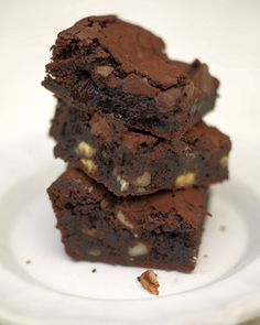 Best brownie recipe ever....yummy! Changed the flour to spelt flour as I am wheat intolerant. They were perfectly gooey and rich!