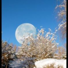 Daytime catching up with the moon
