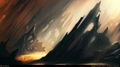 The Aliens Land by Mojtaba Naderloo | 2D | CGSociety