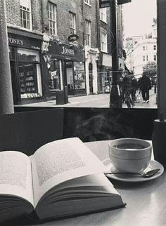 reading & coffee - essentials for the soul.