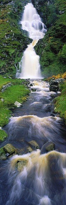 Ardara Waterfall ~ Co Donegal, Ireland