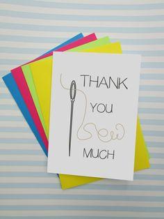 Funny Thank You Card Puns Alternative Thank You Card by cushobi Diy Cards Thank You, Thank You Puns, Teacher Thank You Cards, Birthday Puns, Funny Birthday Cards, Easy Valentine Crafts, Valentines, Pun Card, Card Sentiments