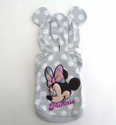 Disney Minnie polka dot Madras Parker [Disneyzone] - 2600 Yen