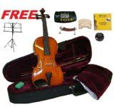 For Sale Merano MV500 4/4 Complete Size Ebony Oil Varnish Flamed Violin,Case,Bow+Added Set of Strings+Added Bridge+Shoulder Relaxation+Black Songs Stand+Metro Tuner+Rosin+Mute Evaluations - http://buyingmanual.com/for-sale-merano-mv500-44-complete-size-ebony-oil-varnish-flamed-violincasebowadded-set-of-stringsadded-bridgeshoulder-relaxationblack-songs-standmetro-tunerrosinmute-evaluations.html