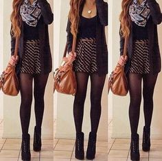 I could see myself wearing this outfit! Definitely for long legs