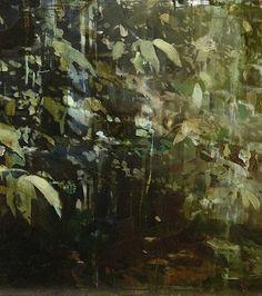 Alex Kanevsky | Rainy July, 2014 | Oil on canvas | 13 x 12 Inches