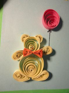 Teddy bears, Quilling and Bears on Pinterest