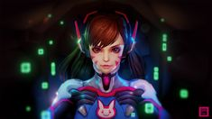 [OverWatch Fan art] Dva by phungdinhdung on DeviantArt