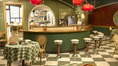 The Pie Hole, Pushing Daisies. Production Design by Michael Wylie, Art Direction by Kenneth J. Creber, Set Decoration by Halina Siwolop.