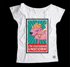 I am fucking unicorn oversize t-shirt specially for girls!  Check all SS'14 collection - www.kartelclth.pl  #unicorn #womanfashion #fashion #kartelclth #tshirt #tee #womenfashion #shirt #ss2014