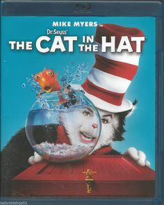 Dr. Seuss' The Cat in the Hat (Blu-ray Disc, 2012)  Mike Myers Director: Bo Welc