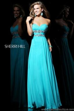 Sherri Hill Dress 3866 at Peaches Boutique