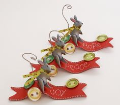 55def8191c833 mice ornaments from the round top collection Christmas Love