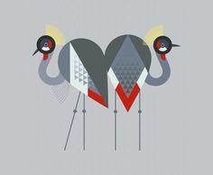 Birds Illustrations by Scott Partridge. - Art is a Way | Art is a Way