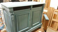 Blog pure original die speciale sfeer meubels pimpen living at home pinterest colori - Verf credenza ...