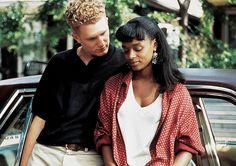 Black man and white teen