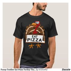 Funny Toddler Eat Pizza Turkey Thanksgiving Gift T-Shirt - toddler youngster infant child kid gift idea design diy Boy Thanksgiving Shirts, Thanksgiving Leggings, Thanksgiving Gifts, Thanksgiving Outfit, Thanksgiving Turkey, Toddler Humor, Funny Toddler, Toddler Boys, Pizza Shirt