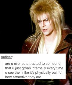 Jareth is definitely one attractive man.