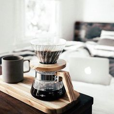 Opting for a Hario V60 pour over this weekend sweet clean tastes! Shop Hario @alternativebrewing Link in Bio  NEW Olive Wood Range   Tumblr