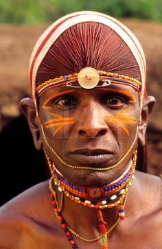 Maasai tribe people in costume traditional dress in jungles in front of hut near Kenya Africa Kenya Africa, Out Of Africa, East Africa, African Tribes, African Art, African Beauty, We Are The World, People Of The World, Tribal Face Paints